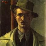 01-Vernizzi-Autoritratto-con-il-cappello,-olio-su-tavola1924-CP-Milano